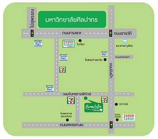 Chankaew Residence Map
